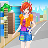 Lily vacation in tokyo dress up game