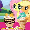 Little Pony Ice Cream game