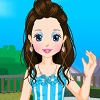 Little Girl Eva Dressup game