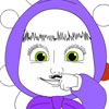 Masha Mustache Coloring game