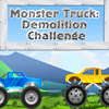 Monster Truck Demolition Challenge game