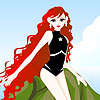 Molly mermaid dress up game