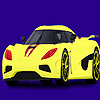 Modern and fast car coloring game