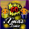 Monkey GO Happy - Xmas Time game