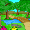 Nature Scenery Coloring game