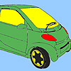 New petite car coloring game