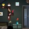 Night room escape game