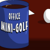 Office mini-golf game