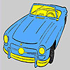 Oldest open top car coloring game