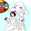 Paint me Snow White game