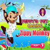 Peppys Pet Caring - Zippy Monkey game