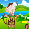 Peppys Pet Caring - Rocking Monkey game