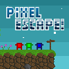 Pixel Escape game