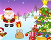 Pou decorated Christmas game
