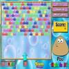 Pou Bubble Hit game