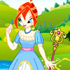 Princess Bloom Dressup game