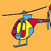 Private firm helicopter coloring game