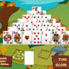 Pyramide Solitaire Farm Edition game