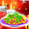 Red Christmas Pasta game