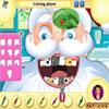 Santa Claus at Dentist game