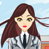 School Girl DressUp game