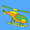 Short distance helicopter coloring game