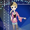 Singing Girl On Stage Dress Up game