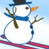 Snowman Skiing game