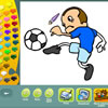Sports coloring pages game