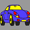 Sport luxury car coloring game