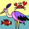 Stork Fishing game