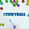 Stickyball game