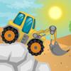 Trucks Desert Racing game