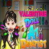 Valentine Doll at the Dentist game