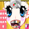 Valentine Girl at Dentist game