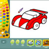 Vehicles coloring pages game