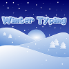 Winter Typing game