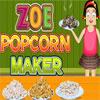 Zoe Popcorn Maker game